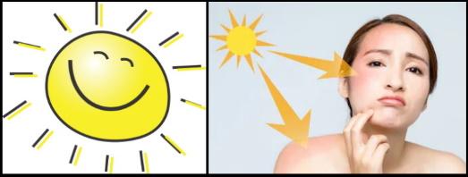 2 el sol te va a dañar
