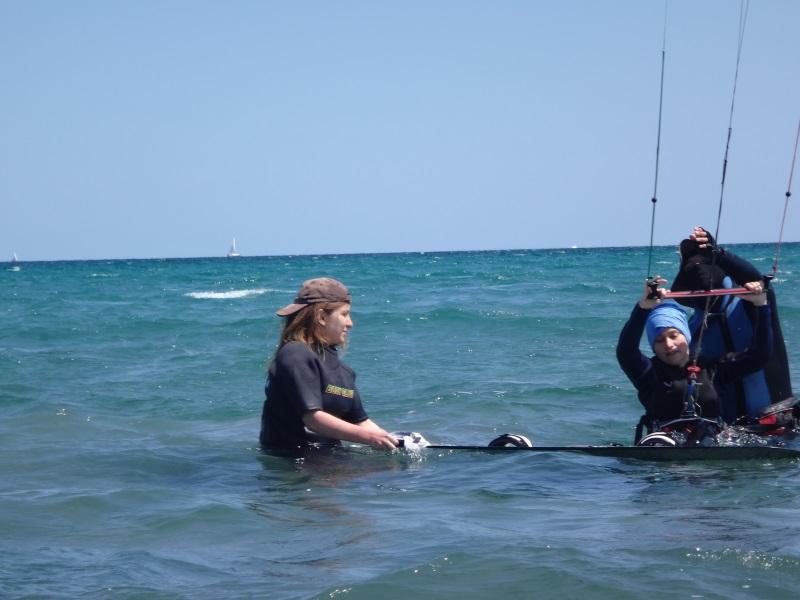 2 kitesurf en Mallorca Pollensa