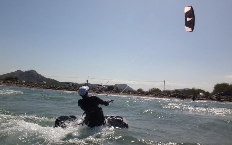 25 clases de kite segundo dia de curso Mallorca