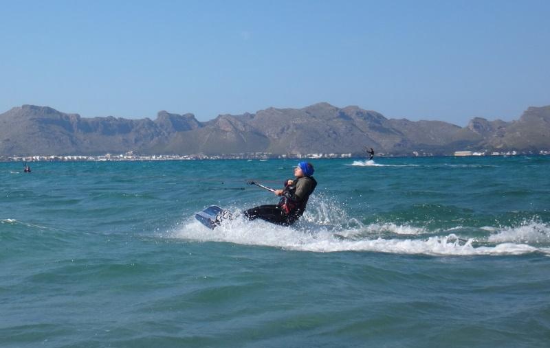 29 la escuela de kite en Mallorca