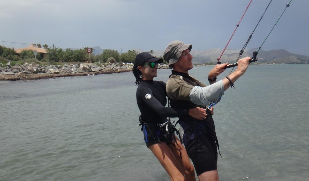 3 ayuda curso de kite en Vietnam