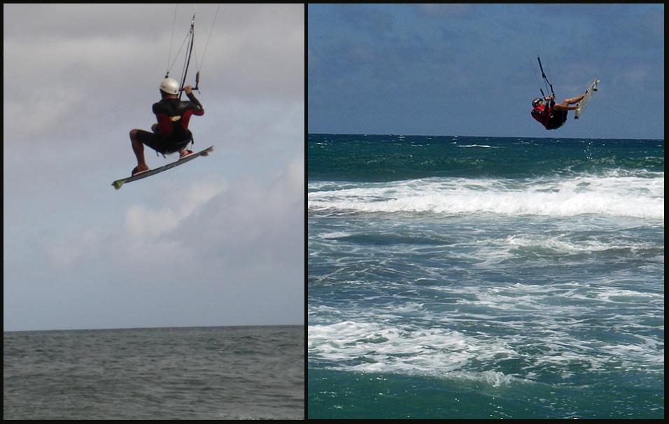 3 kite grande o kite pequeño para saltar