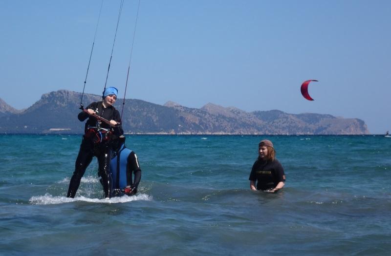 3 mejor precio kitesurf en Mallorca