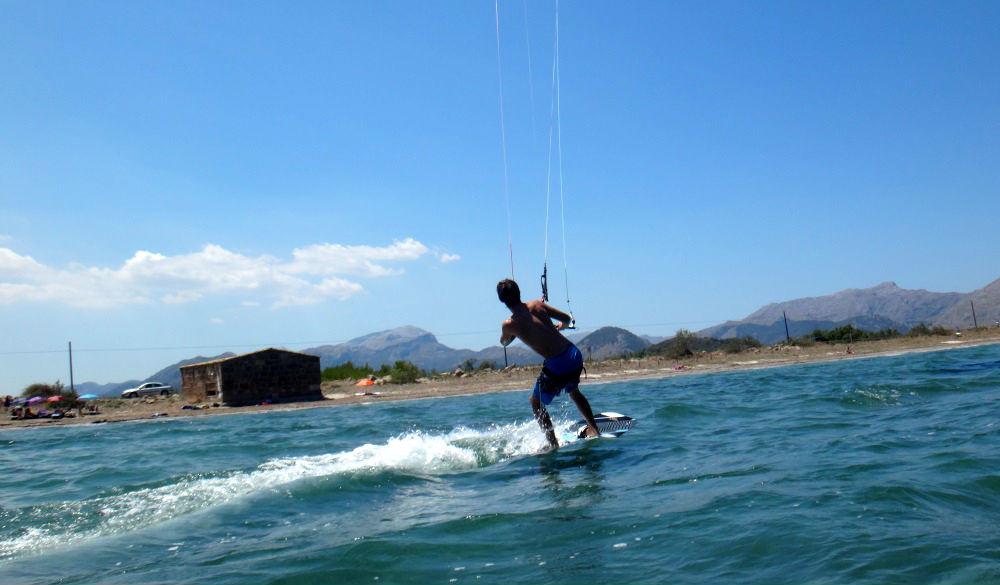 4 clases de kitesurfing con flysurfer kites