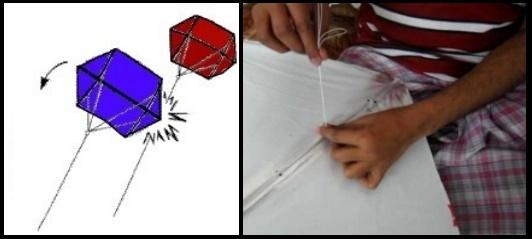 7 fighting kites y su construcción