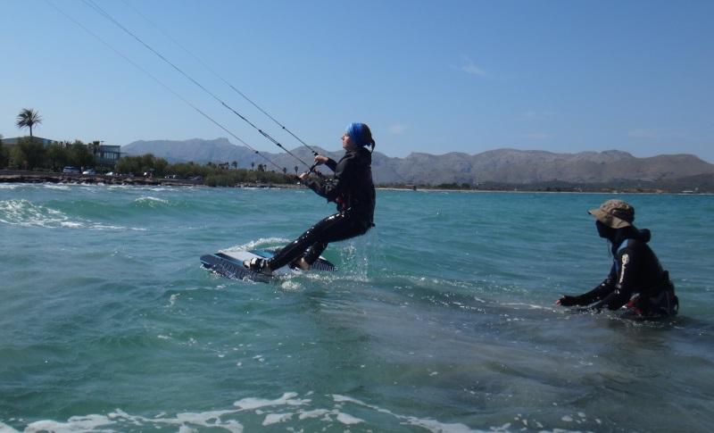9 kitesurf en Mallorca cursos Polaco