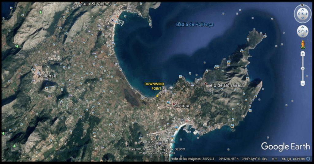 mapa general area