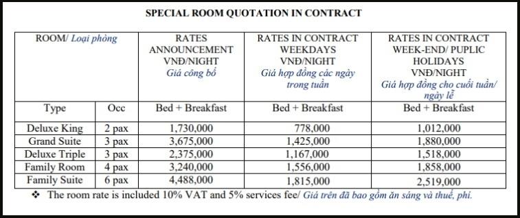 precios hotel