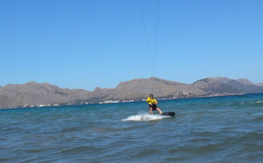 kite schule auf Mallorca