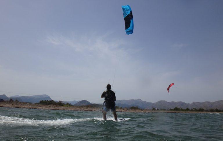 7 kite course in Vietnam with flysurfer Peak
