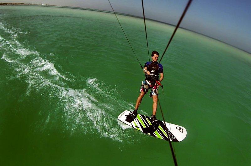 Kitesurf en Vung Tau playa de Bai Sau kitesurf race board