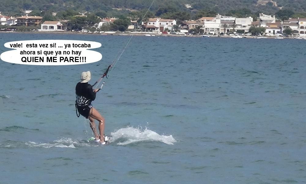 16 kitesurfing in Mallorca - kite lessons in Vietnam otra vez arriba