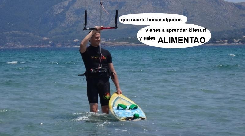 16 kitesurfing lessons vietnam - kite club AAN Mallorca - que suerte tienen algunos