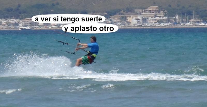 19 kitesurfing lessons vietnam - kite club AAN Mallorca - si lo veo lo aplasto