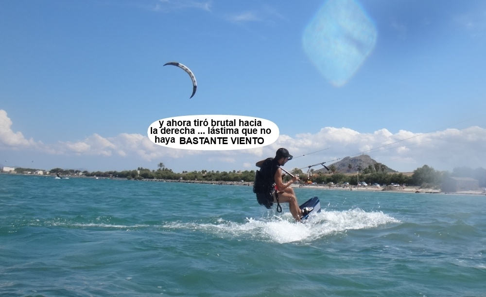 3 kitesurfing in Mallorca - kite lessons in Vietnam y sigue navegando