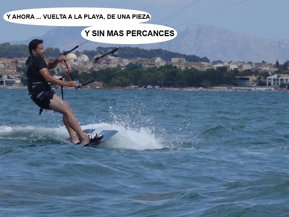 4 kitesurfing in Mallorca - kite lessons in Vietnam es Josep