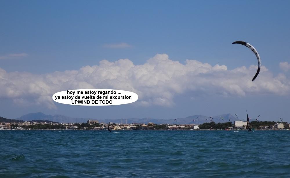 5 kitesurfing in Mallorca - kite lessons in Vietnam flysurfer 21 mts
