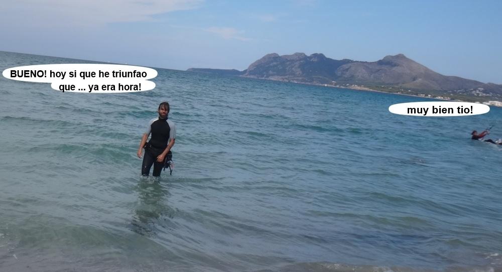 6 kitesurfing in Mallorca - kite lessons in Vietnam Miguel