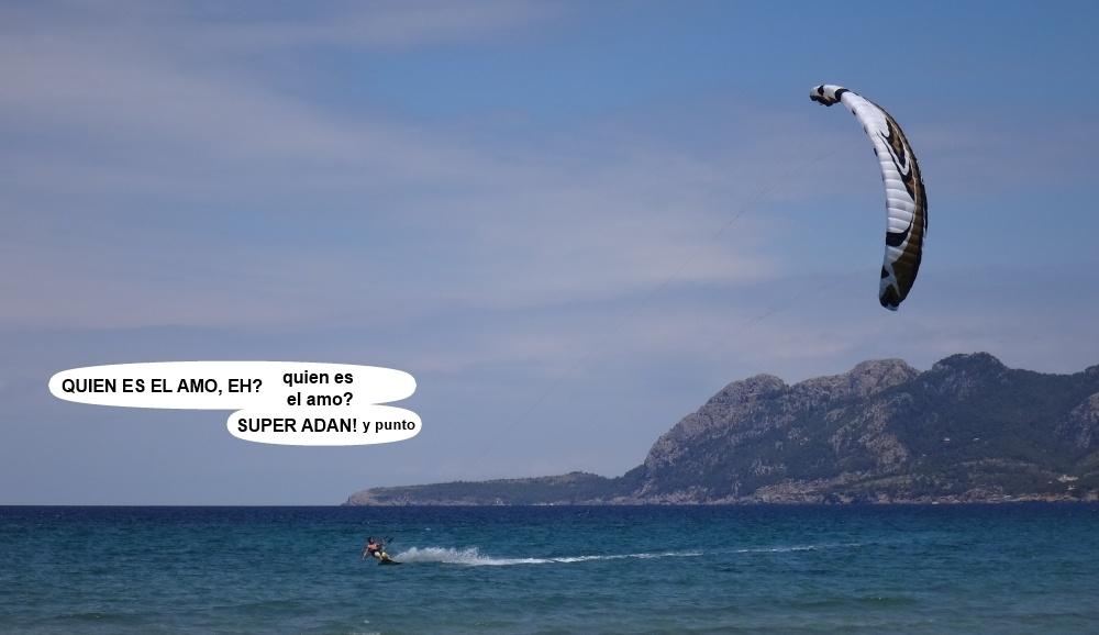 7 kitesurfing in Mallorca - kite lessons in Vietnam Adan