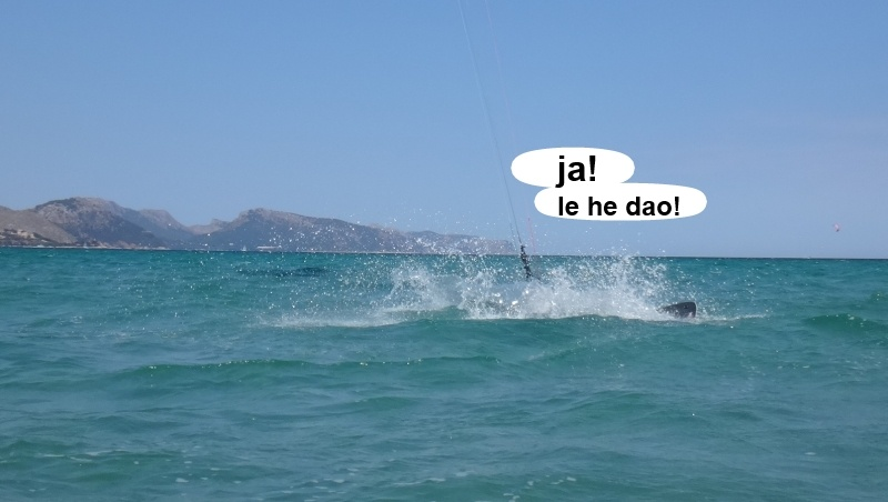 7 kitesurfing lessons vietnam - kite club AAN Mallorca - le ha dao