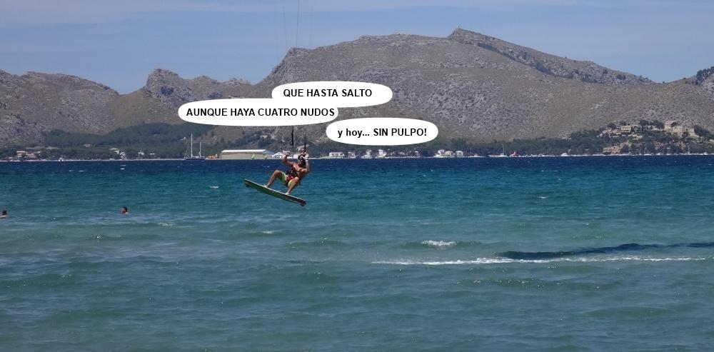 8 kitesurfing in Mallorca - kite lessons in Vietnam salto