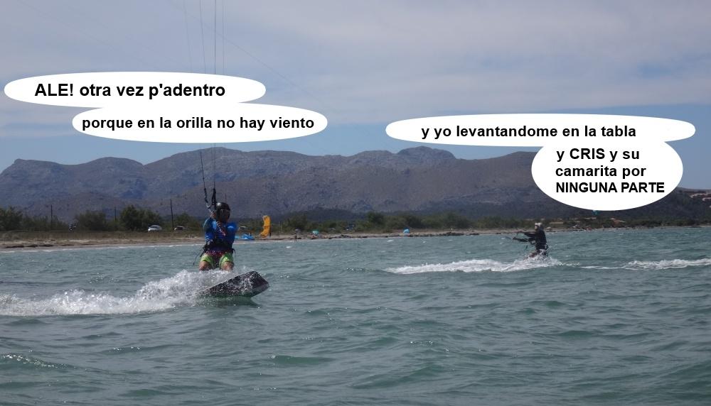 9 kitesurfing in Mallorca - kite lessons in Vietnam va a por mas